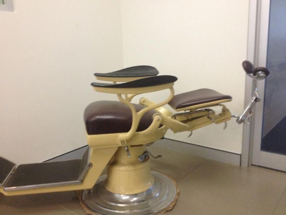 Vintage Dentist Dental Chair Antique Fully Restored Suit Barber Tattoo  Parlour - Vintage Dentist Dental Chair Antique Fully Restored Suit Barber