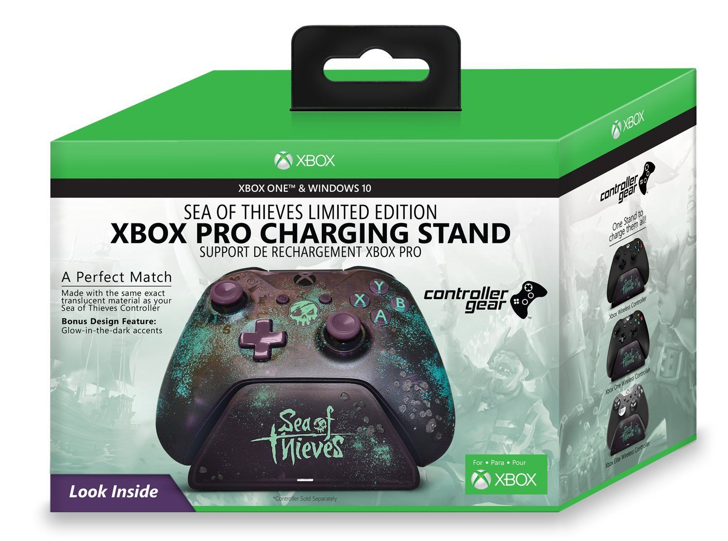 Controller Gear Sea Of Thieves Special Edition Xbox Pro Charging Stand Xbox One Controller Sold Separately Thieve Xbox One Controller Sea Of Thieves Thief