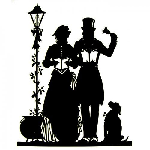1000 Images About A Christmas Carol On Pinterest: Caméo Silhouette