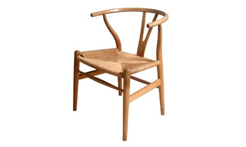 Wishbone chair, by Hans Wegner, 1949.