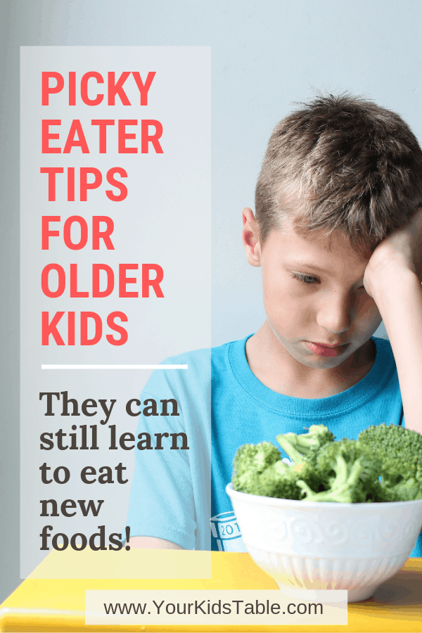 Finally some tips that can help older picky eaters specifically 612 and an amazing resource for picky eating teens and even adults