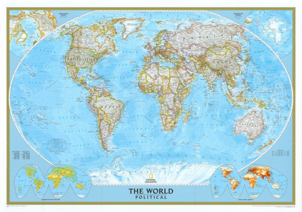 Amazon world classic political map two sizes and spanish amazon world classic political map two sizes and spanish available map type basic size 30h x 43w wall maps office products gumiabroncs Image collections