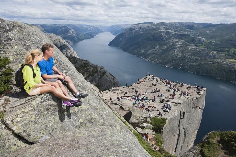 Preikestolen (El Púlpito), cerca de Forsand. Noruega. Norway.