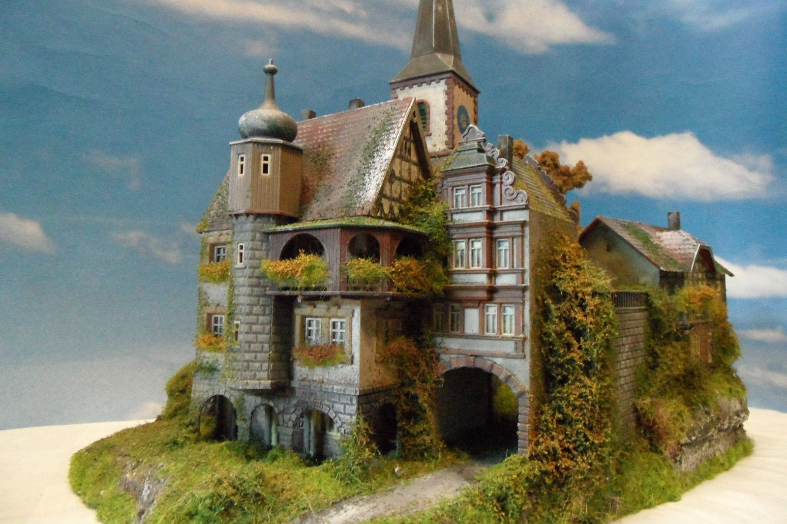 dioramenstudio potsdam burg diorama burg lahnstein ho modell ebay model railways pinterest. Black Bedroom Furniture Sets. Home Design Ideas