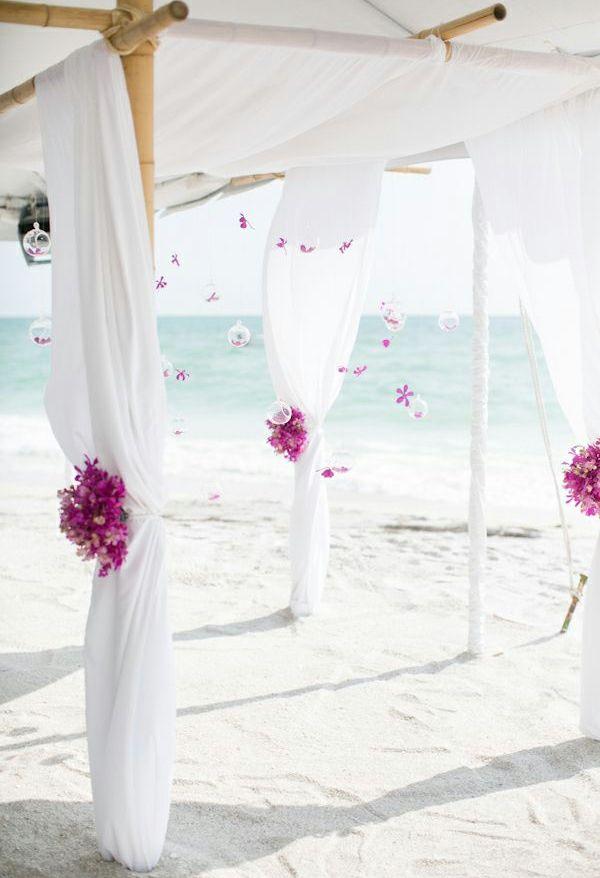 15 Romantische Simple Hochzeitsfeier Ideen Deko Wedding Beach