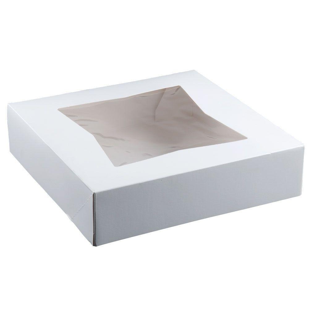 10 X 10 X 2 1 2 White Auto Popup Window Pie Bakery Box 200 Bundle Bakery Box Bakery Cakes Bakery