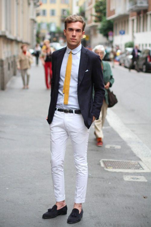 e04495591406 MELLOW YELLOW.... | FASHION HURTS...... | Fashion, Mens fashion, Style