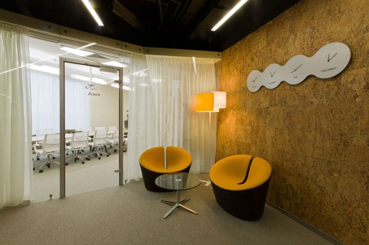 Delicieux Modern Office Design By Za Bor Architects: Yandex Office