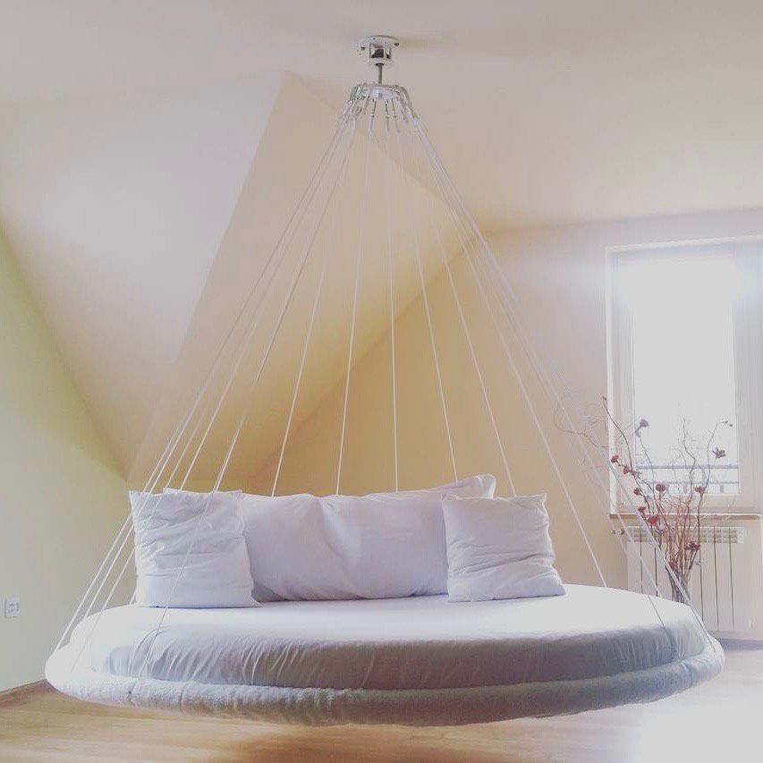 Fancy   Round Suspended Bed