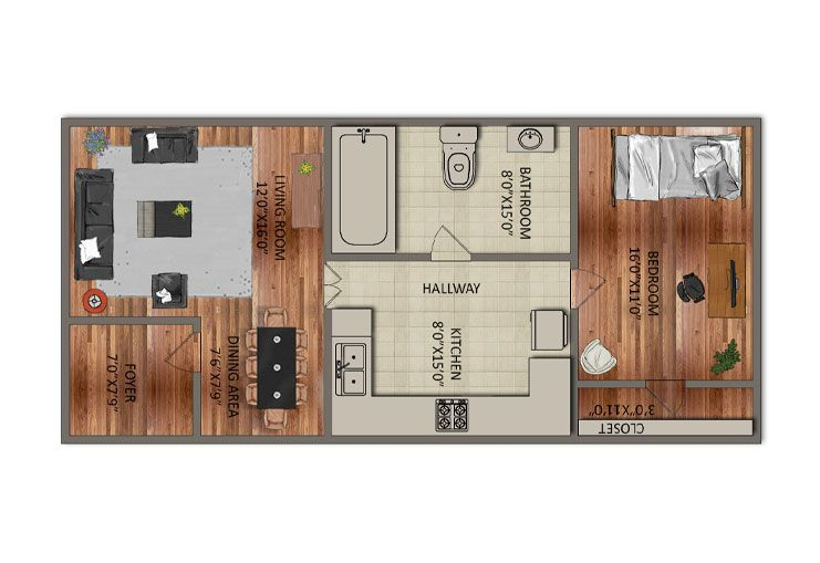 Apartment Size Kitchen Units That Fit Your Lifestyle