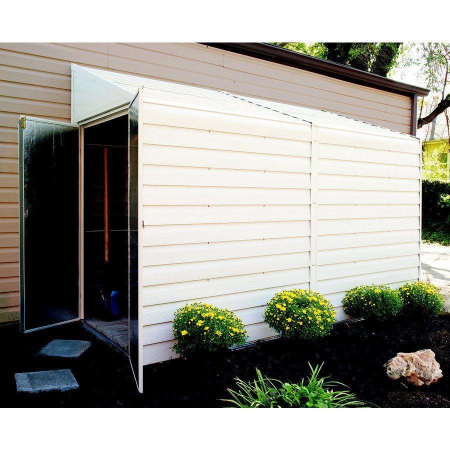 Garden Sheds 7 X 10 arrow 4-ft x 10-ft galvanized steel storage shed | best galvanized