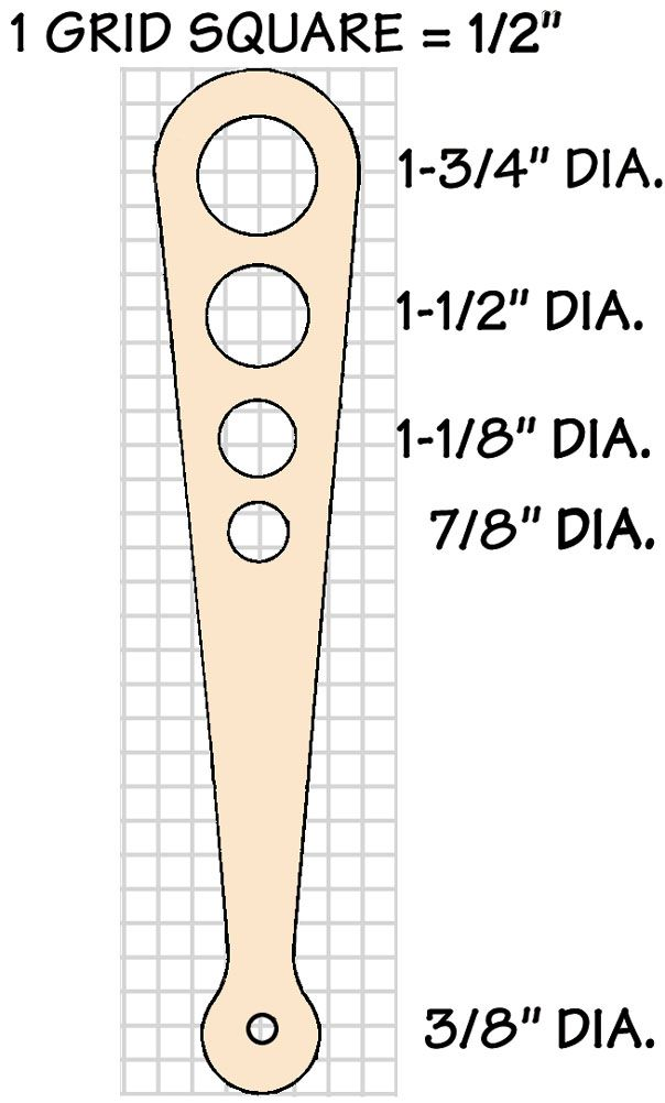 Pasta Tools Spaghetti Measure Template Spaghetti Measuring Small Woodworking Projects Woodworking Projects Advanced