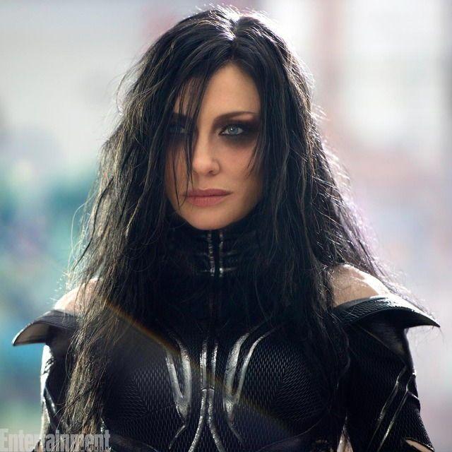 Cate Blanchett as Hela in Thor: Ragnarok   Marvel   Thor ... кейт бланшетт тор