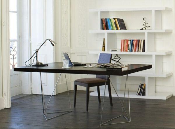 Moderne büromöbel  computertisch schwarz pc tische büroeinrichtung moderne büromöbel ...