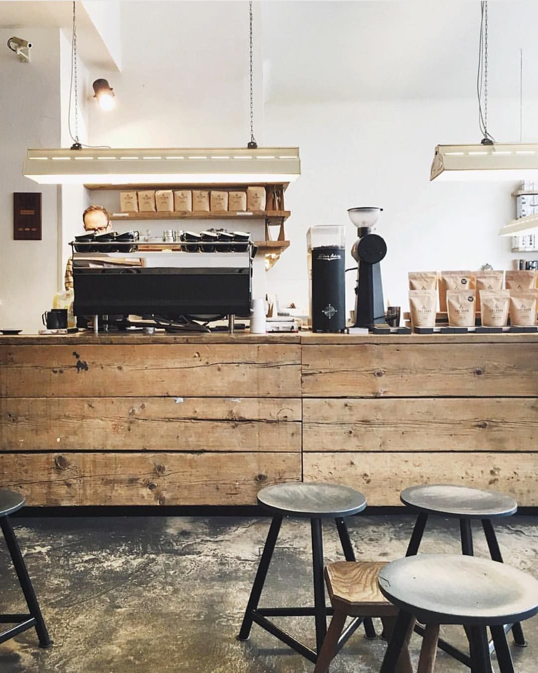 Espresso bar at thebarnberlin dcily acmecups