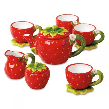 Strawberry Tea Set #teasets