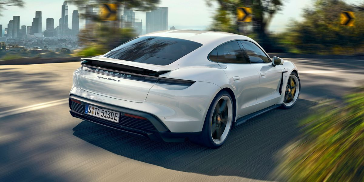 2020 Porsche Taycan Electric Sports Sedan Is the First