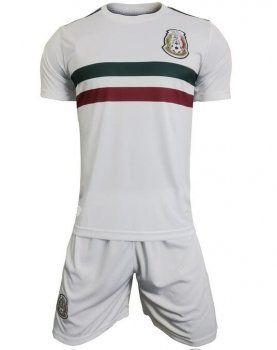 ca021c475 Mexico National Team 2017-18 Season Away White Soccer Kit  J871 ...