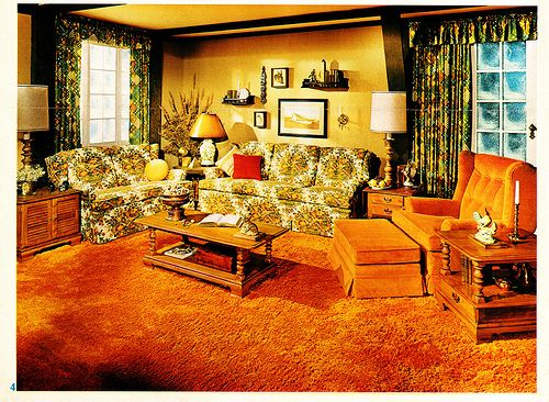 1970'S Orange | Vintage Homes | Pinterest | 1970S Decor, Vintage