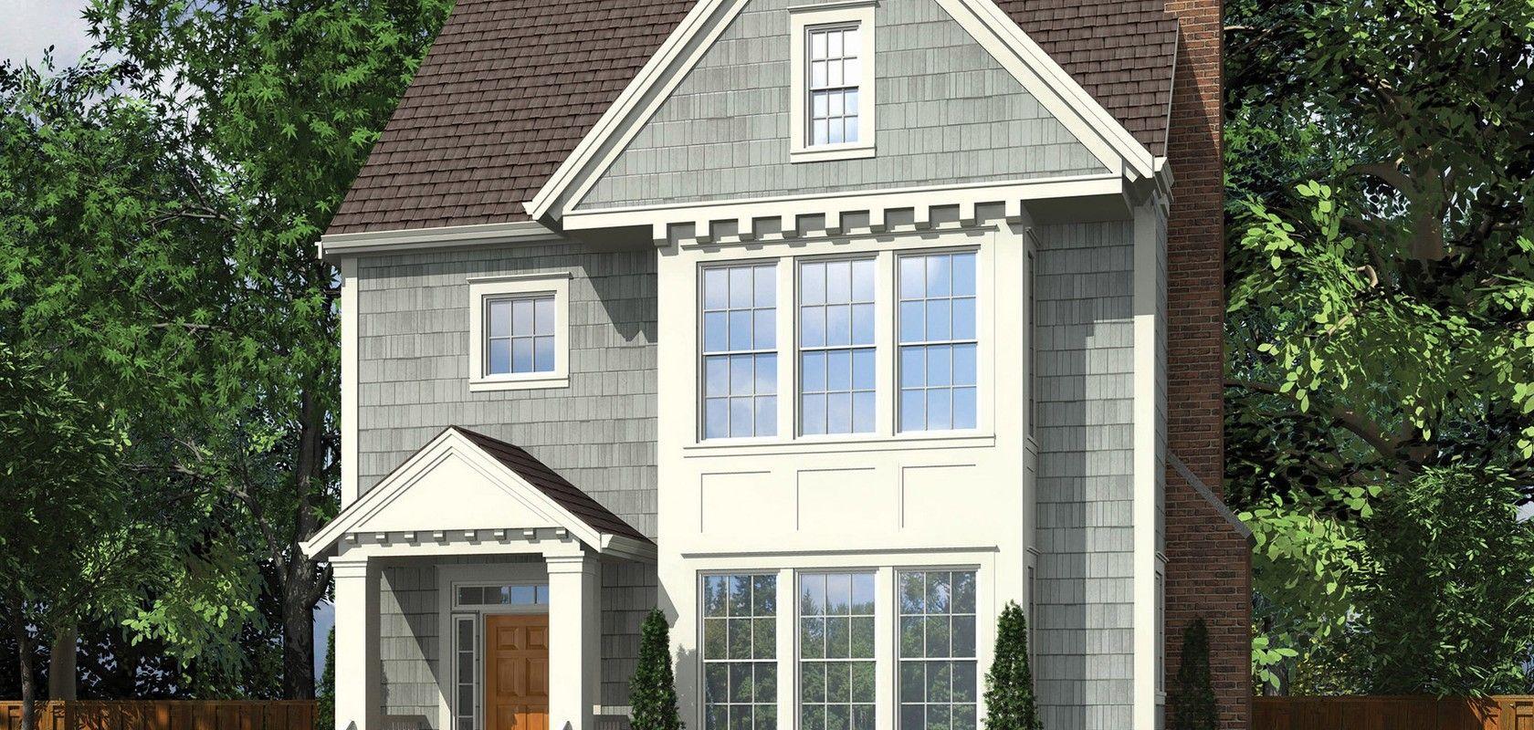 Mascord House Plan 22172E The Irwin House plans, House