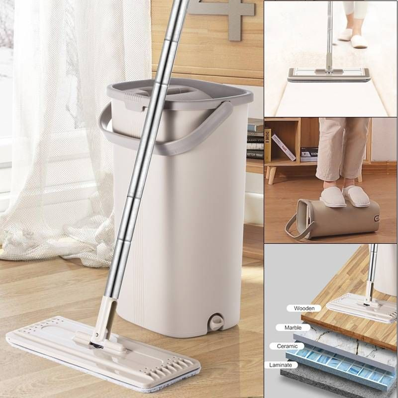 Moppsy Pro 2 Exceptional Self Cleaning System Cleaning Mops Mop Pads Wet Mops