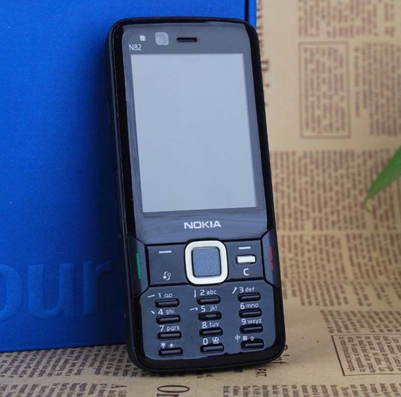6a7be113c10 Original Nokia N Series N82 Unlocked Mobile Phone 5MP WIFI 3G GSM Free  Shipping  NOKIA  Bar