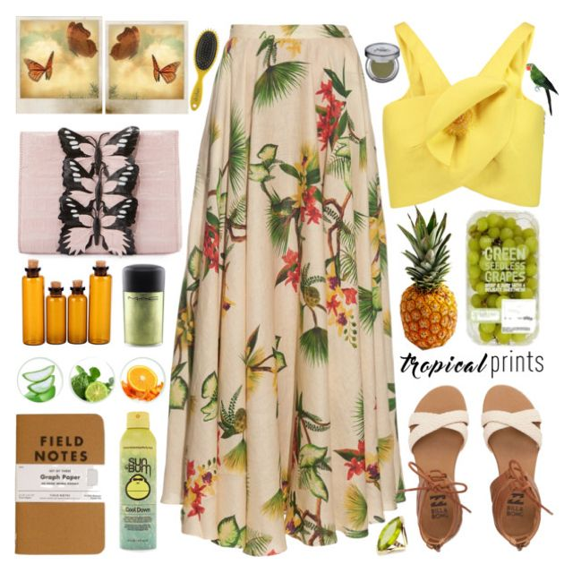 wonderful tropical paradise themed outfit costumes