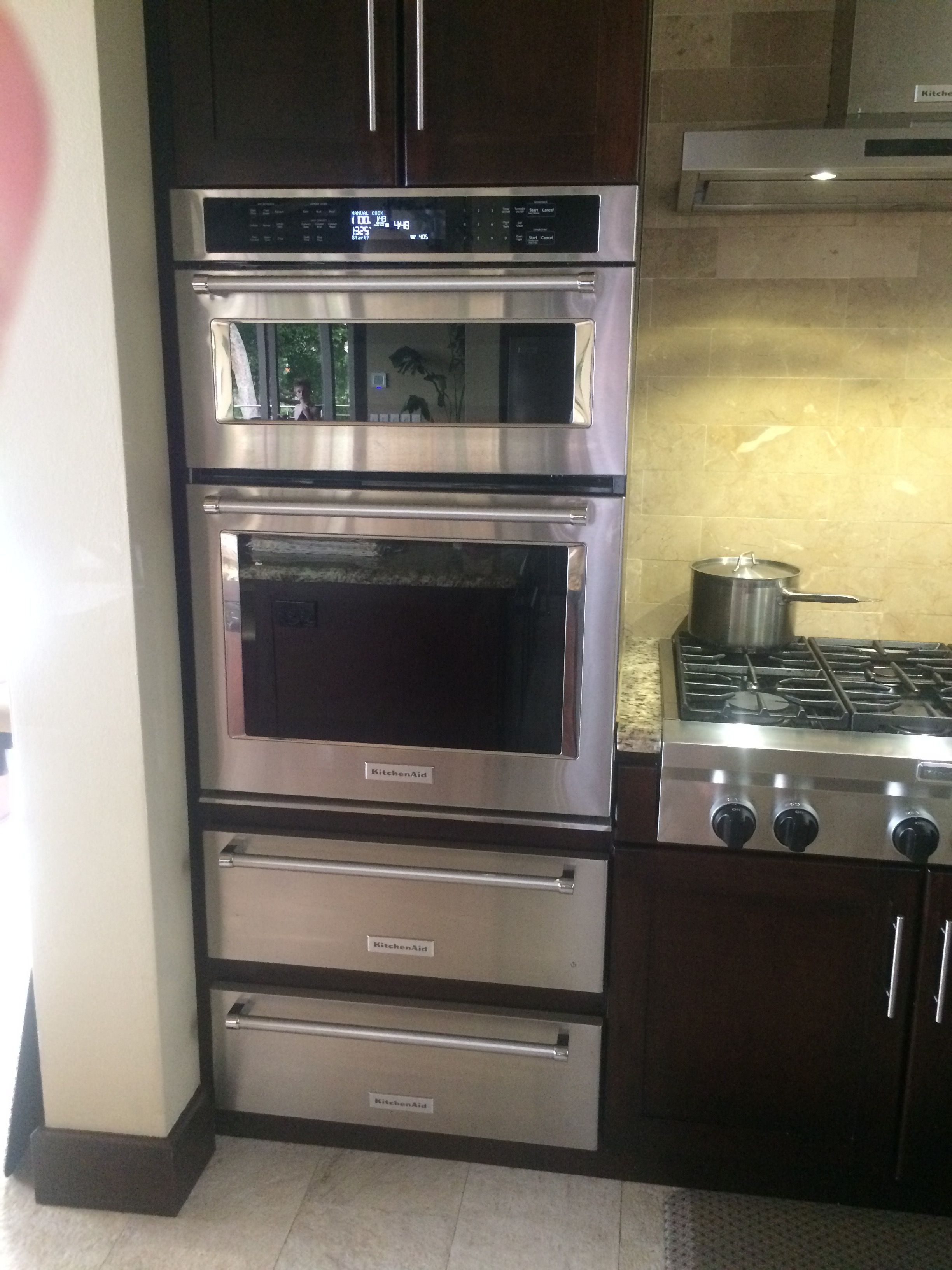 Kitchen Aid Microwave Convection Oven