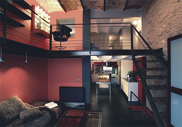 D co loft industriel d coration style industriel pinterest loft industr - Decoration loft industriel ...