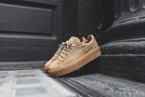 puma x rihanna wmns creeper wheat kith nyc unbedingt. Black Bedroom Furniture Sets. Home Design Ideas