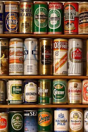 Download Free Beer Cans Cupboard Iphone Wallpaper Mobile Wallpaper
