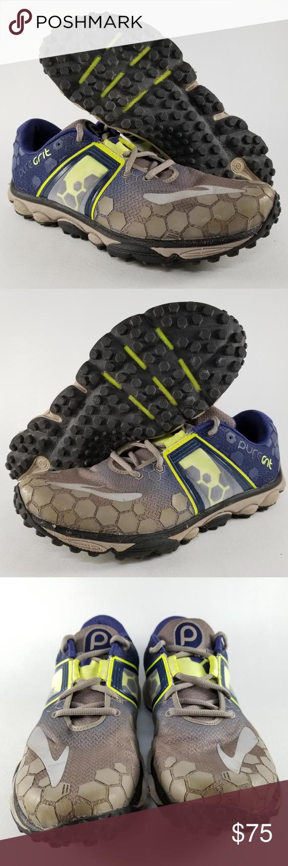 a622ae6bdab Brooks PureGrit 4 Men s Trail Running Shoes SZ 10 Brooks PureGrit 4 Men s  Trail Running Athletic