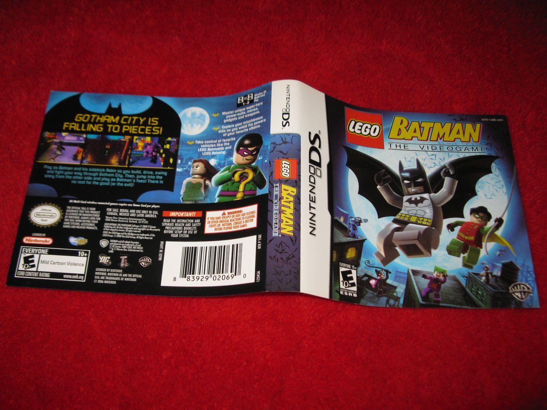 Lego+Batman+:+Nintendo+DS+Video+Game+Case+Cover+Art+insert ...