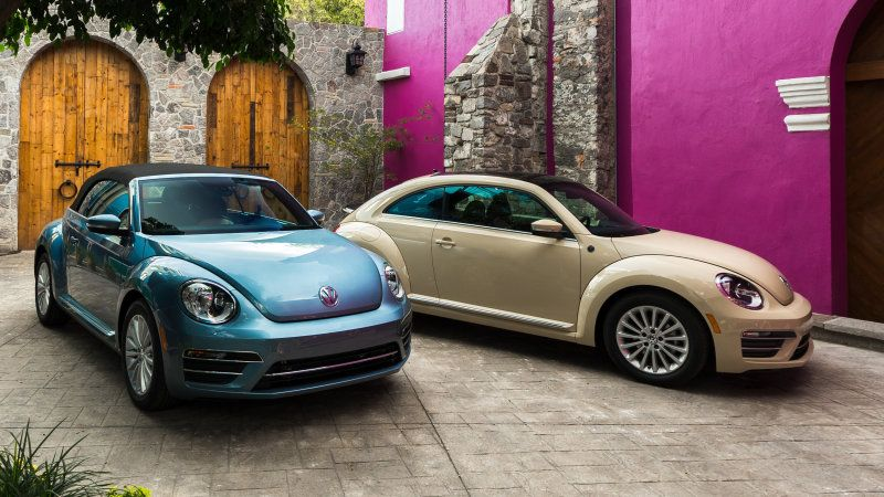 2019 VW Beetle Final Edition driving review | Vw beetles ...