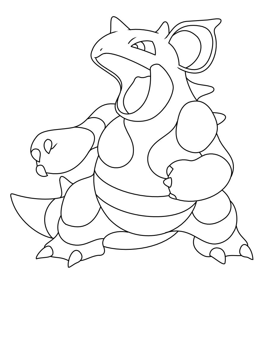 Cool Pokemon Nidoqueen Coloring Pages Coloring Pages Pokemon Coloring Pages Pokemon Coloring