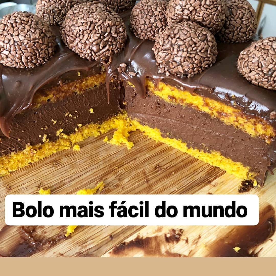 Quem Ama Bolo De Cenoura E Mousse De Chocolate Esse Bolo De