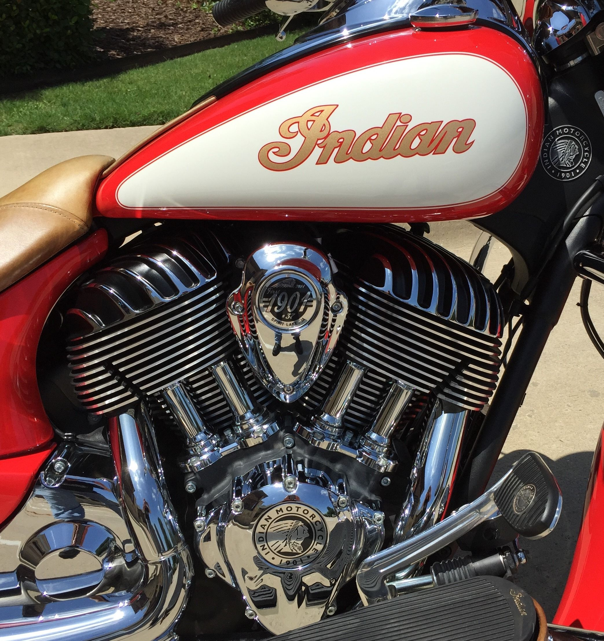Ts111 Powder Coated Valve Covers Indian Motorcycle Forum