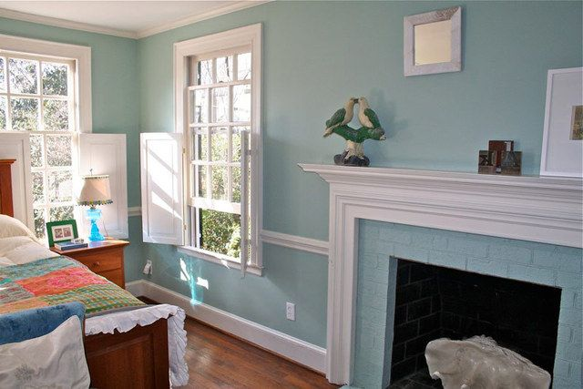 Ruth Burts Interiors I Need A Great Blue Paint Color Not Navy Farrow And Balls Powder Room