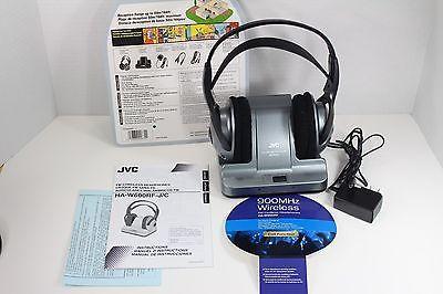 JVC HAW600RF 900 MHz Wireless Stereo Headphones