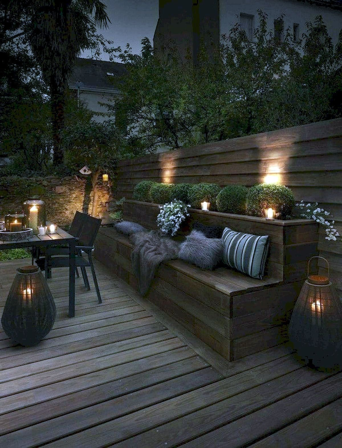 Terrific Exterior House Lighting Ideas Uk One And Only Kennyslandscaping Com Backyard Seating Area Backyard Seating Backyard Patio