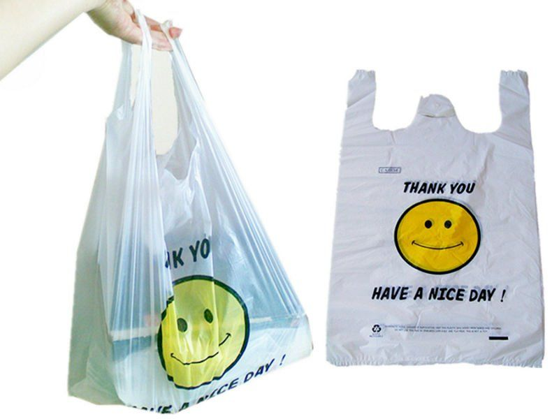 Plastic Shopping Bag Thank You, View plastic shopping bag ... | LA ...