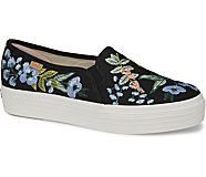8487fe59c32b8 Keds x Rifle Paper Co. Triple Decker Embroidered Herb Garden