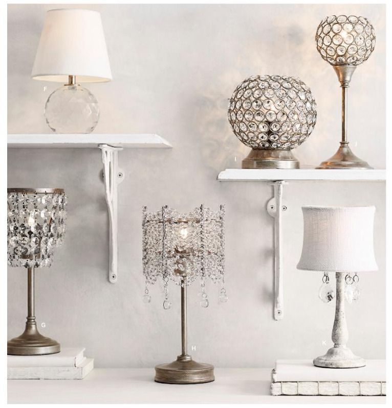 Rh baby s coco crystal accent lampdraped strands of faceted crystals form a glittering surround for our coco crystal lamps candelabra bulbs