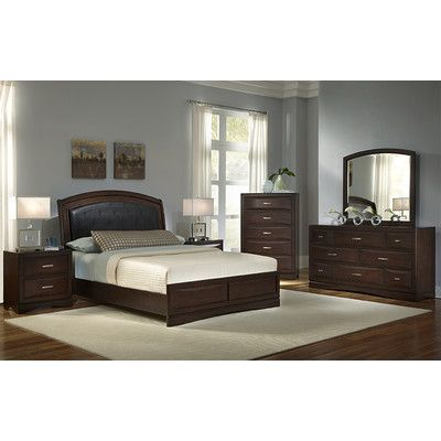 Najarian Furniture Beverly 8 Drawer Dresser with Mirror | Home Hopes ...