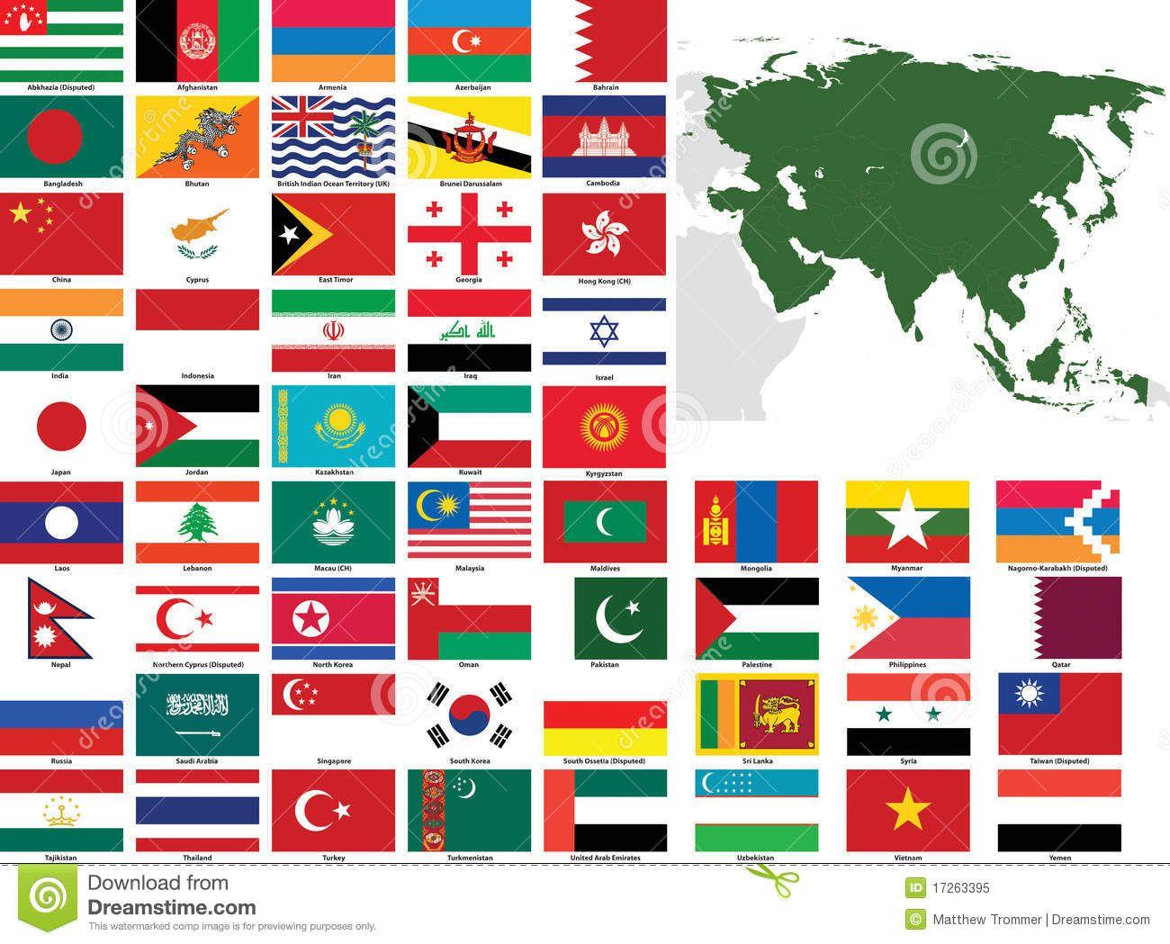 Países da Asia