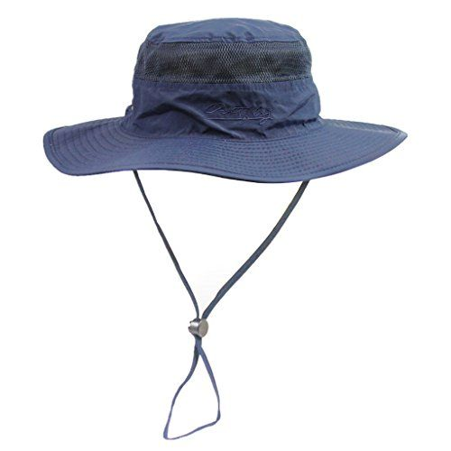 b6e3e421a0d81 Home Prefer Unisex Daily Outdoor Sun Hat Camouflage Mesh Bucket Hat Wide  Brim Boonie Fishing Hats