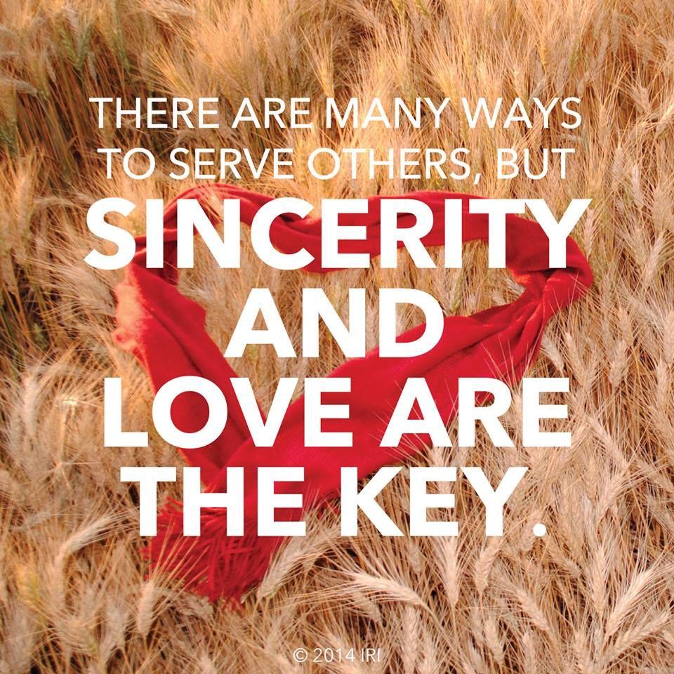 Sincerity & Love. #lds | Sincerity quotes, Memes quotes