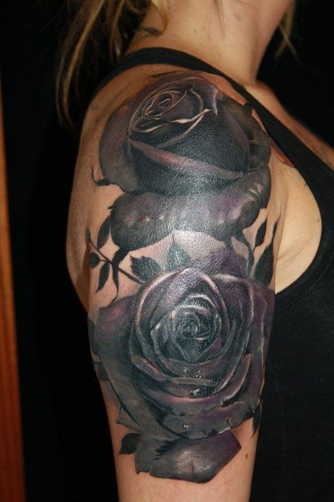 Pin By Ruptured Spleen On Tattoo Idears Black Rose Tattoo Coverup Cover Up Tattoos Black Rose Tattoo Meaning