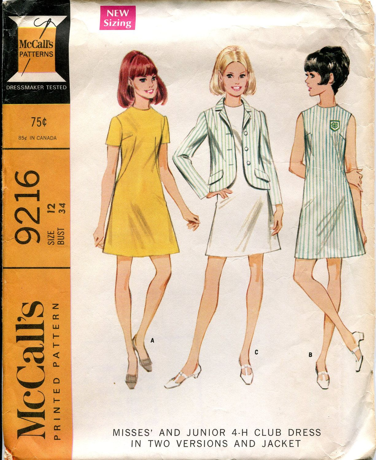 A pattern for your 4-H uniform.... I wish we still had these ...