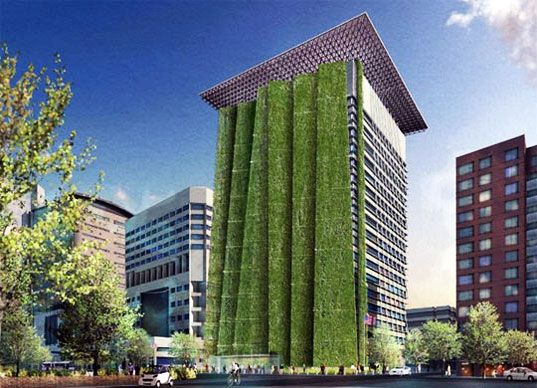 Portland to Get 250ft Vertical Garden With Vegetated Fins ... on time designs, teamwork designs, design designs, style designs, heat designs, training designs, screen designs, strategy designs, power designs, balance designs, mounting designs, strength designs, beauty designs, loyalty designs, townhome designs, construction designs, safety designs, freedom designs, triplex designs, dynamic designs,